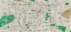 Mexico City On A Map by Www Mappi Net Maps Of Cities Mexico