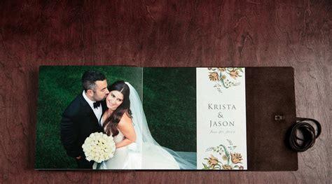 Wedding Album Journal by Krista And Jason S Summer Wedding Album Modern Wedding