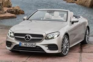 Mercedes E Class Convertible Mercedes Classe E Cabriolet 2017 Infos Et Photos