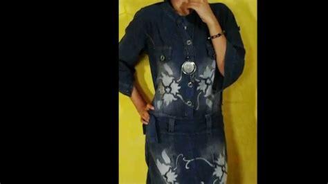 Foto Baju Levis Wanita baju batik kerja wanita bahan levis