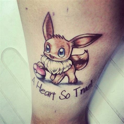 eevee tattoo pin by meggie lovins on s board