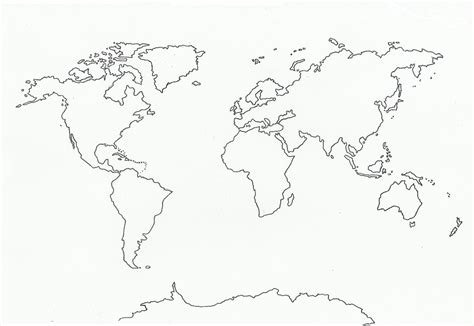 map template flat world outline images