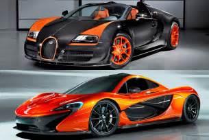 Bugatti Mclaren Bugatti Veyron Vs Mclaren P1