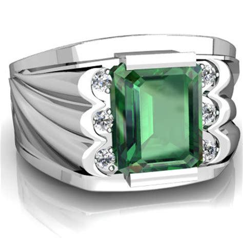 lab emerald s ring r1835 wcemr