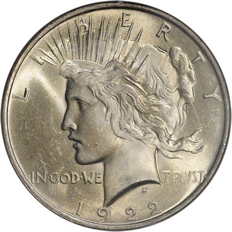 1922 us peace silver dollar 1 ngc ms65 ebay
