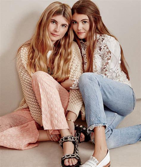 lori loughlin model lori loughlin s daughters make their gorgeous debut in