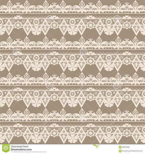 seamless ribbon pattern seamless pattern ribbon with beige lace background stock