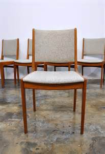 Teak Dining Chairs Select Modern Set Of 6 Modern Teak Dining Chairs