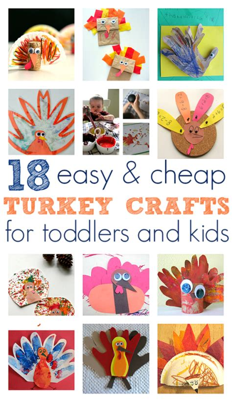easy turkey crafts for thanksgiving archives no time for flash cards