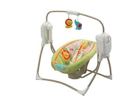 fiaher price swing fisher price space saver cradle n swing