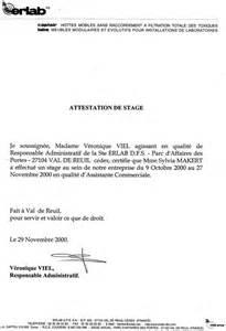 Promesse De Stage Lettre Modele Attestation Indemnite De Stage Document