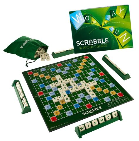 original scrabble 20 must board for family at