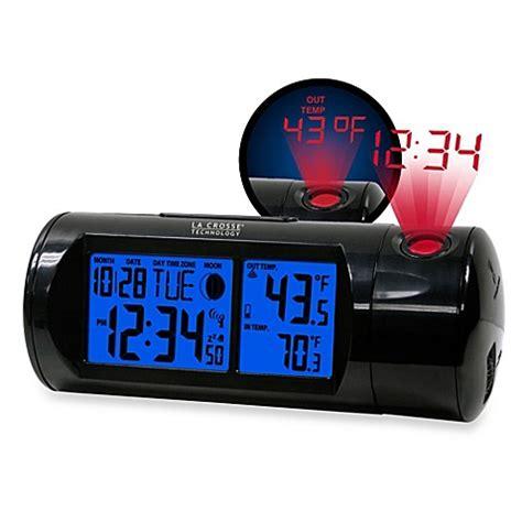 la crosse technology projection alarm clock bed bath beyond