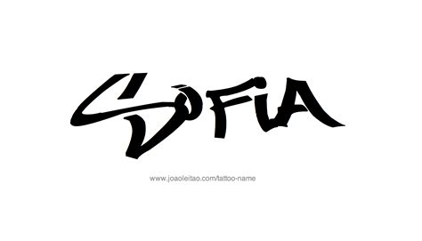 sofia tattoo sofia name designs