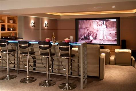 sound bar behind couch mountain modern addition contemporary home theater