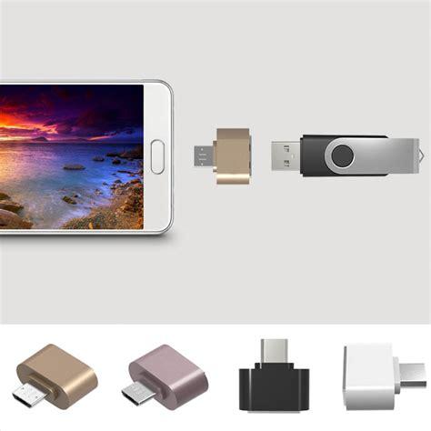 Usb Otg Untuk Tablet 1pcs micro usb to usb otg adapter 2 0 converter for tablet