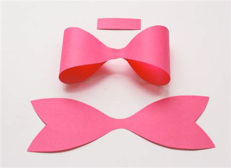 Paper Bows - how to make a paper bow how about orange