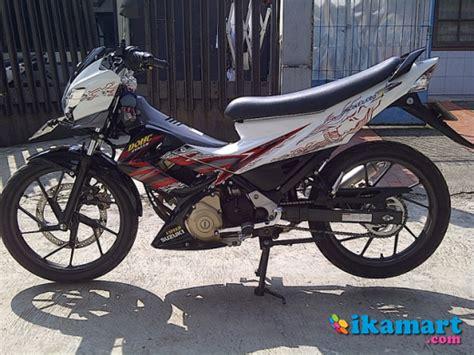 Satria Fu 2012 Bandung jual satria fu putih 2012 bandung motor