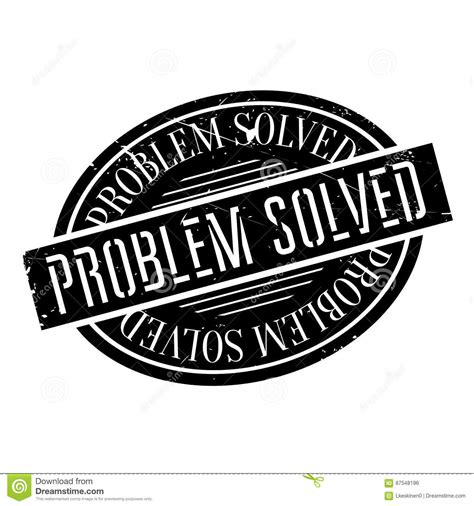 8 problems that can be easily solved by machine learning problem solved rubber st stock vector image 87548196
