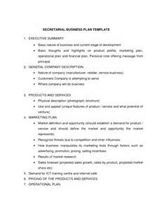 basic business plan outline template best photos of basic marketing plan outline one page