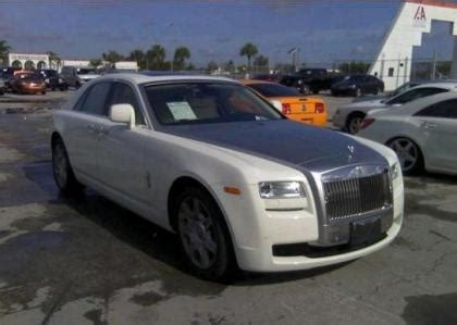 export salvage rolls royce ghost s