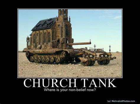 Church Is A Tank by Hi I M An Atheist Atheism