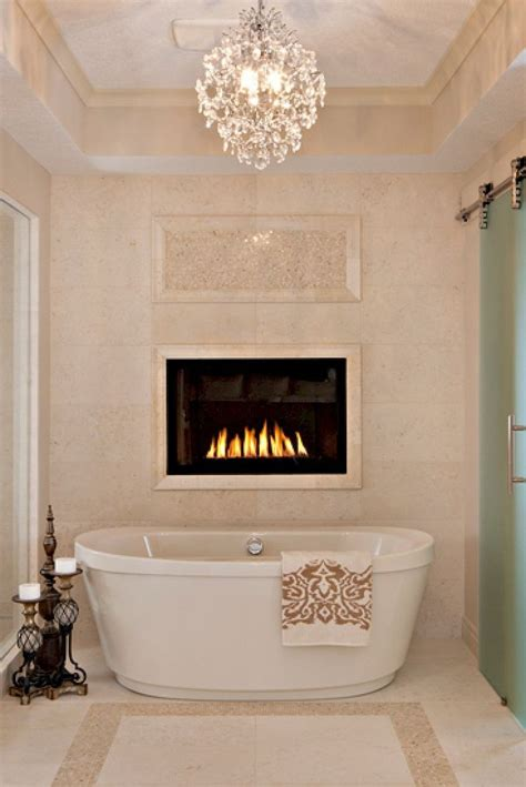 bathroom electric fireplace the 25 best bathroom fireplace ideas on pinterest two
