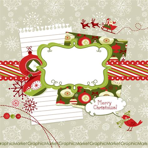 christmas digital scrapbook embellishments christmas clip