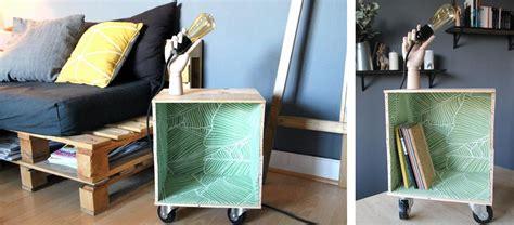Table Avec Caisse De Vin by Diy Table D Appoint Design 224 Faire Soi M 234 Me Tuto