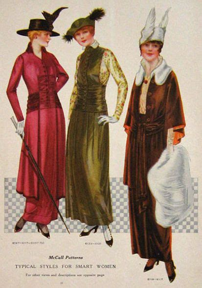 history of womens fashion 1900 to 1969 glamourdaze 1914 fashion history gallery