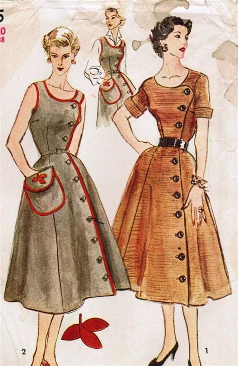 de 25 bedste id 233 er inden for vintage dress patterns p 229