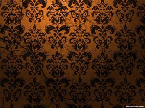 design powerpoint batik brown powerpoint background