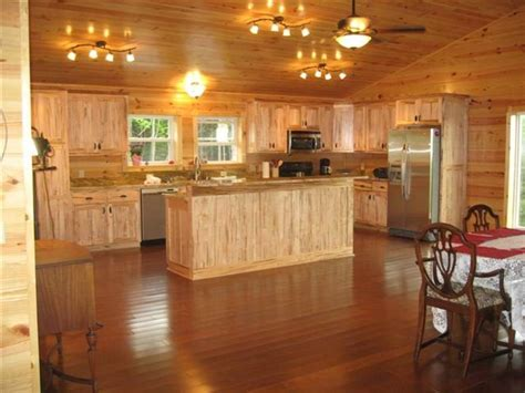 wormy maple kitchen cabinets the great escape cabin spa wifi tv cottages for rent in