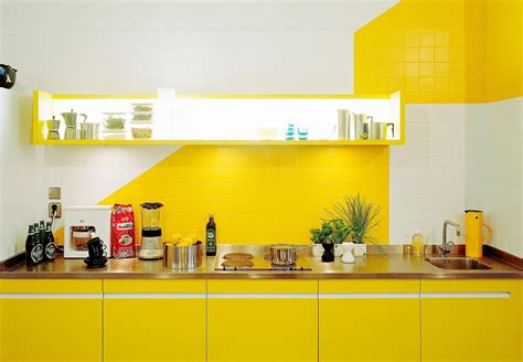 awesome modern kitchen shelf design yellow cabinets and kitchen colorful kitchen design ideas cool bright
