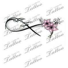 infinity tattoo design your own tattoos on pinterest cherry blossom tattoos disney
