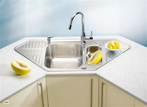 corner kitchen sink unit corner sink stainless steel sink unit pixel 60 kitchen