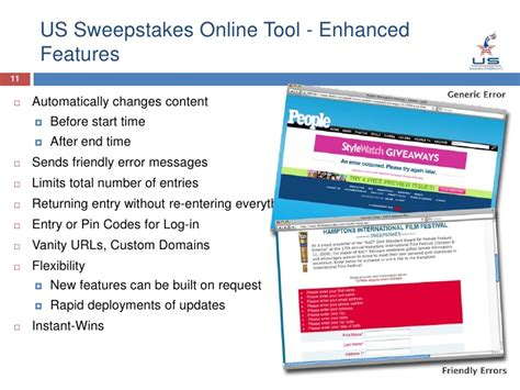 Sweepstakes Software Distributors - us sweepstakes capabilities overview 11 2 09