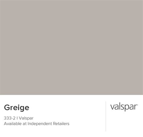 valspar paint color chip greige
