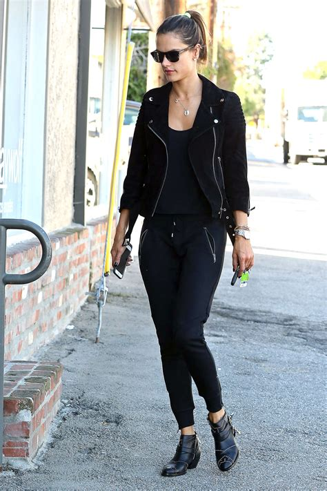 Shopping On Robertson by Alessandra Ambrosio Shopping On Robertson Boulevard In Los