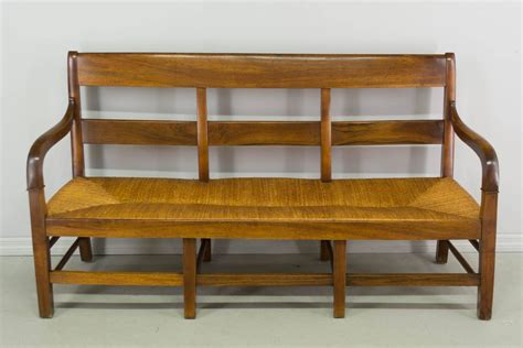 french banquette 19th century country french banquette or settee at 1stdibs