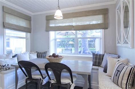 breakfast room banquettes built in banquette cottage dining room cote de texas