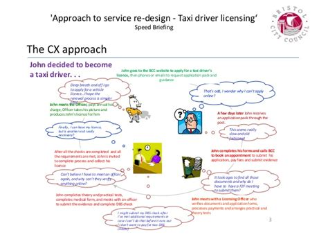 Aig Background Check Process Approach To Service Re Design Taxi Driver Licensing Justin Greenaw