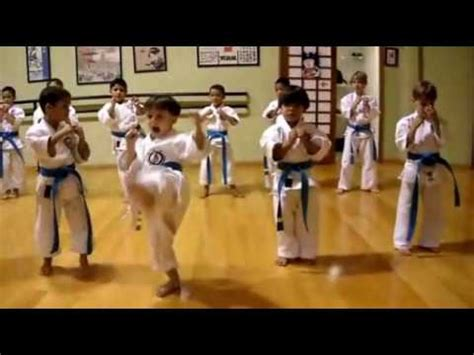 imagenes de niños karate karate para ni 241 os youtube