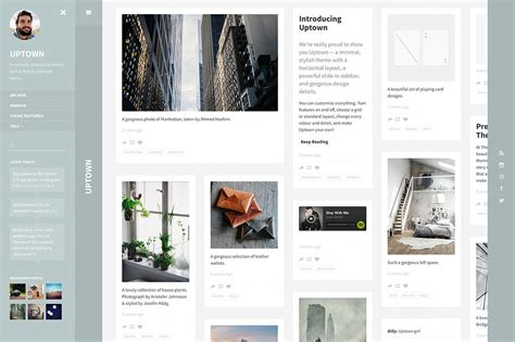 free themes for tumblr with profile picture 30 premium tumblr themes with beautiful minimal design