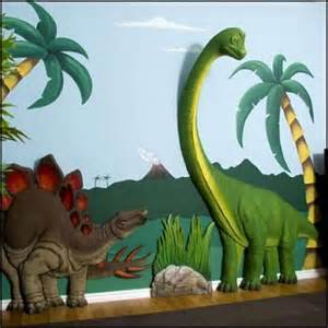 Project working dinosaur theme bedrooms