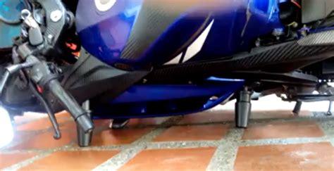 Fame Slider R15 All New aripitstop 187 pasang frame slider pelindung motor yzf r15 ajib bro fairing r15 nggak baret saat