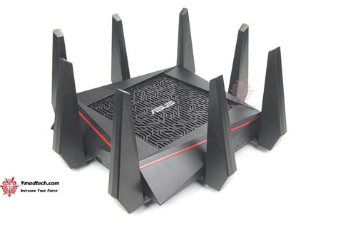 Wifi Router Asus Rt Ac5300 หน าท 2 asus rt ac5300 wireless ac5300 tri band gigabit router review vmodtech