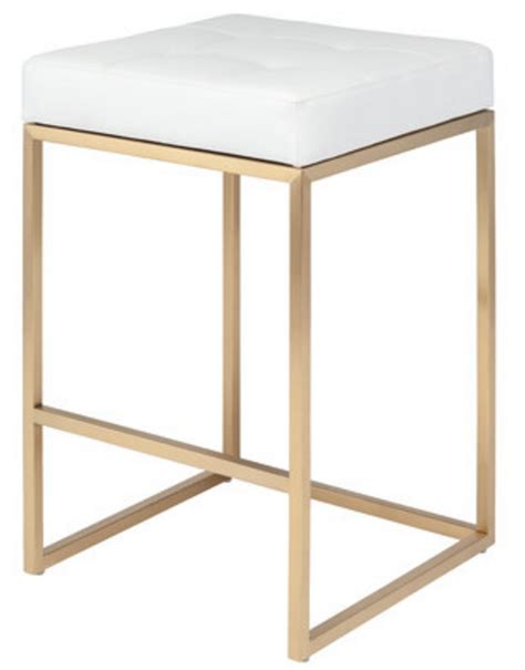Gold And White Stool by Choosing The Right Bar Stool A Thoughtful Place