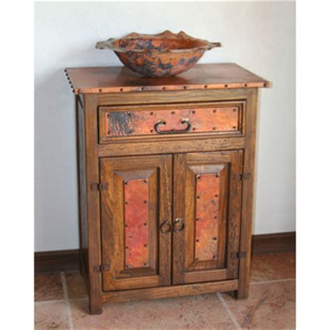 old fashioned bathroom vanity copper bathroom vanities and copper sinks for a rustic old fashioned style
