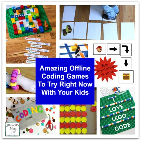 9 Activities To Try Today by Amazing Offline Coding To Try Right Now With Your